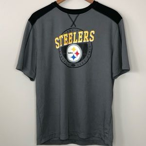 Men's Gray Pittsburgh Steelers NFL Lightweight L